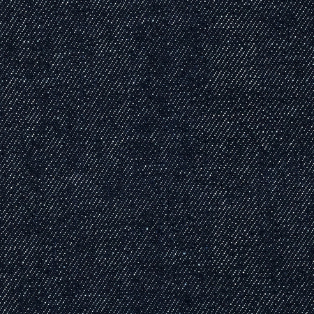 Indigo Denim 12 oz Dark Unwashed Fabric By The Yard