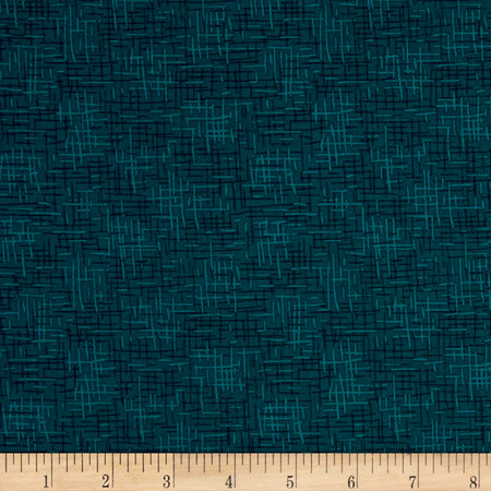 Intrigue Scratches Teal Fabric By The Yard