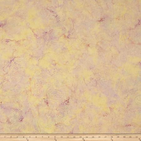 Island Batik Paisley Pastel Fabric