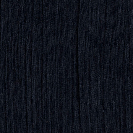 Island Breeze Gauze Navy Fabric By The Yard