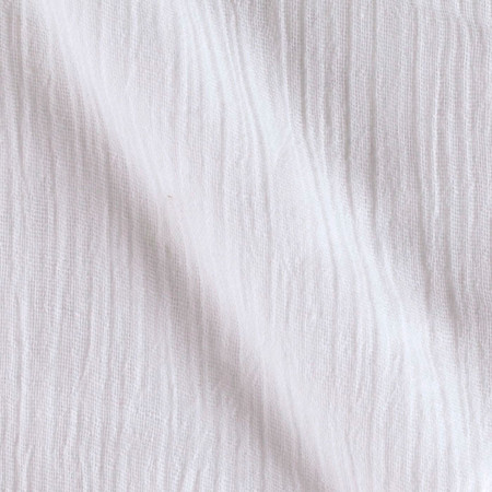 Island Breeze Gauze White Fabric By The Yard