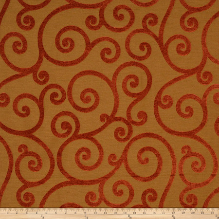 Jaclyn Smith Apsley Chenille Jacquard Tobasco Fabric