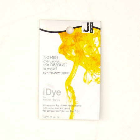 Jacquard iDye Natural Fiber Dye Sun Yellow