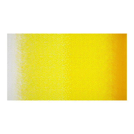 Jane Sassaman Cool Breeze Over the Top Dots Yellow Fabric By The Yard