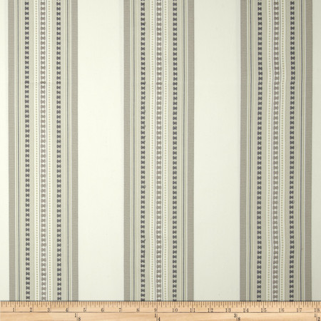 Jennifer Adams Home Bukara Stripe Jacquard Travertine Fabric
