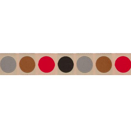 Jessica Jones Dots Woven Ribbon Brown