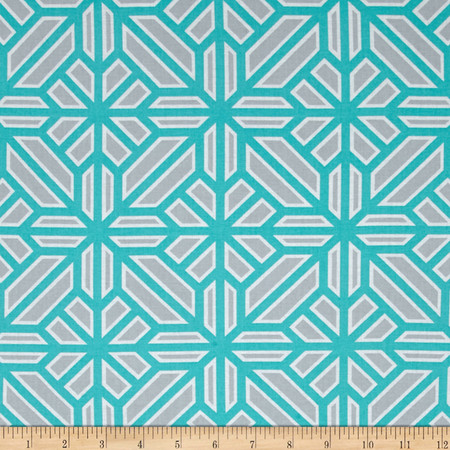 Joel Dewberry Atrium Arbor Mint Fabric By The Yard