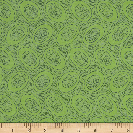 Kaffe Fasset Collective Aboriginal Dot Leaf Fabric By The Yard