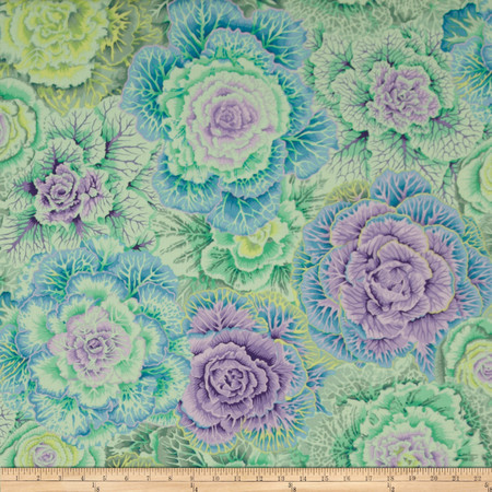 Kaffe Fassett Collective Brassica Green Fabric By The Yard