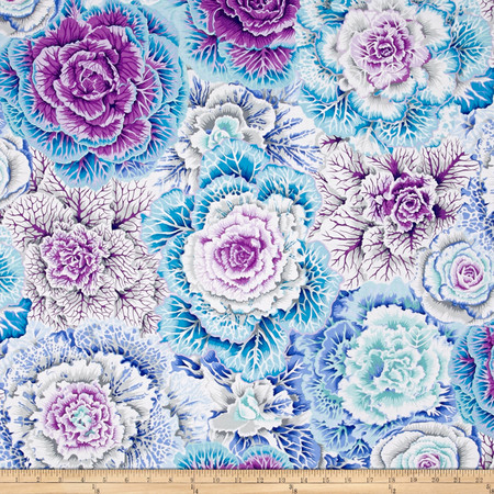 Kaffe Fassett Collective Brassica Sky Fabric By The Yard