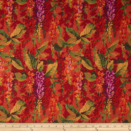 Kaffe Fassett Collective Fox Gloves Hot Fabric By The Yard
