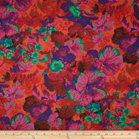Kaffe Fassett Collective Grandiose Magenta Fabric By The Yard
