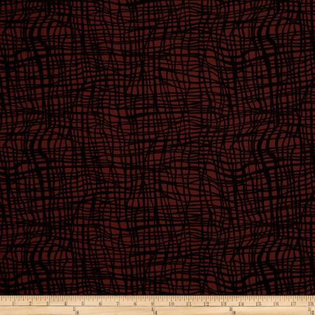 Kanvas Jungle Jive Jungle Vine Brown Fabric By The Yard