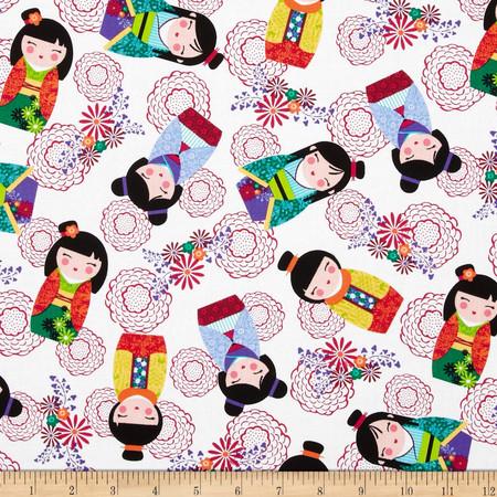 Kanvas Little Harajuku Multi Fabric