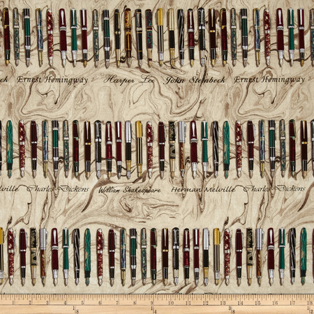 Kanvas Renaissance Man Pen & Ink Parchment Fabric
