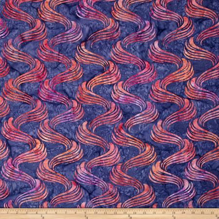 Kaufman Artisan Batiks Portofino Ribbon Sorbet Fabric By The Yard
