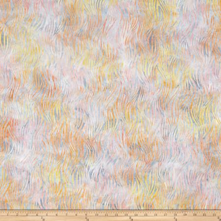 Kaufman Artisan Batiks Portofino Wisps Sorbet Fabric By The Yard