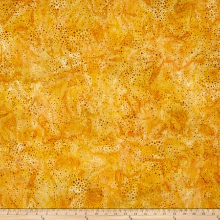 Kaufman Elemental Batiks Tonal Dots Cornsilk Fabric By The Yard