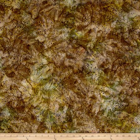 Kaufman Elemental Batiks Tonal Dots Nature Fabric By The Yard