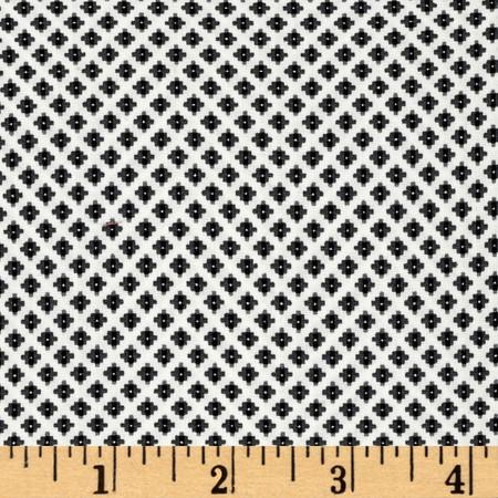 Kaufman Sevenberry Petite Foulard Trellis Fabric By The Yard