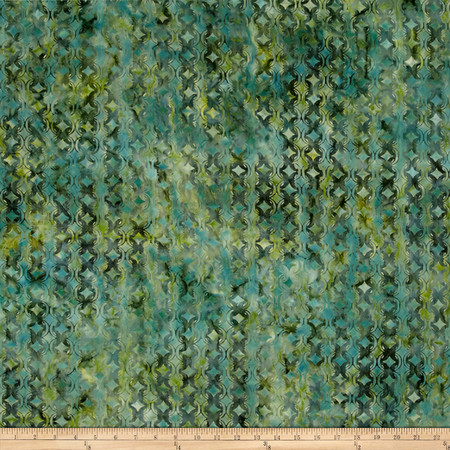 Kaufman Sorrento Batik Diamond Pearls Rain Fabric