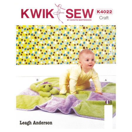 Kwik Sew Blanket and Toy Pattern