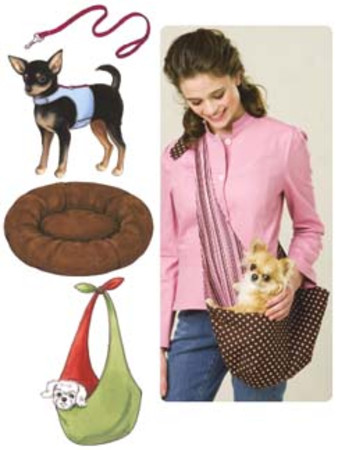 Kwik Sew Harness Leash Bed and Carrier Pattern
