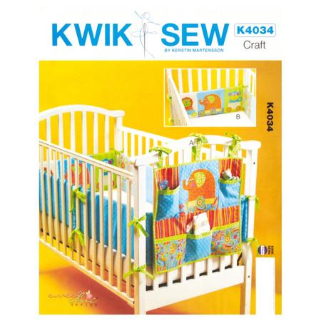 Kwik Sew Organizer and Crib Bumper Pattern