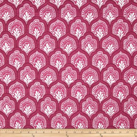 Lacefield Isla Slub Mulberry Fabric