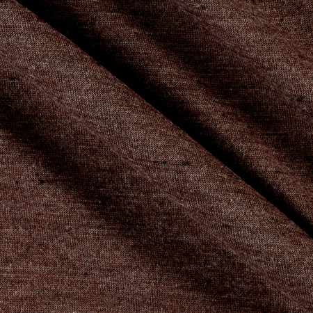 Lightweight Polyester Jersey Knit Brown  Fabric By The Yard