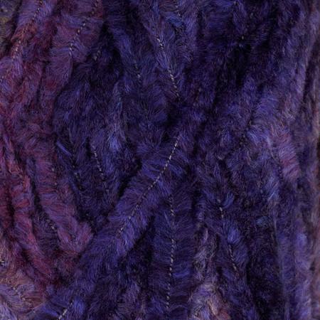 Lion Brand Chenille Yarn (205) Amethyst