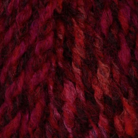 Lion Brand Tweed Stripes Yarn (202) Mixed Berries