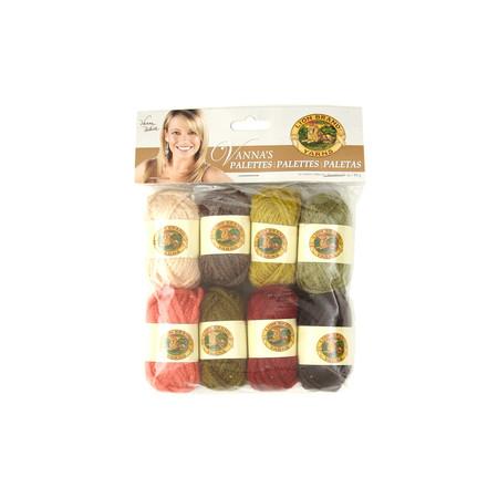 Lion Brand Vanna's Palette Yarn Earthy