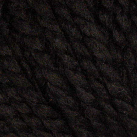 Lion Brand Wool-Ease Thick & Quick Yarn (153) Black