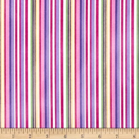 Little Princess Striped Plaid Multi Fabric