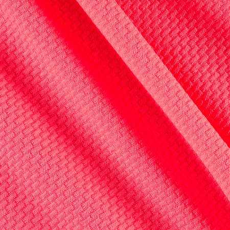 Liverpool Double Knit Solid Neon Pink Fabric By The Yard