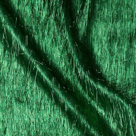 Long Hair Metallic Eyelash Kelly Fabric