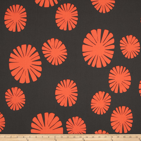 Lotta Jansdotter Follie Mickel Coral Blush Fabric
