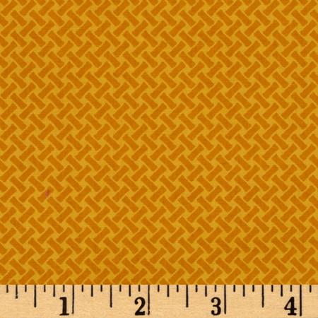 LuLu's Lattice Golden Nugget Fabric By The Yard