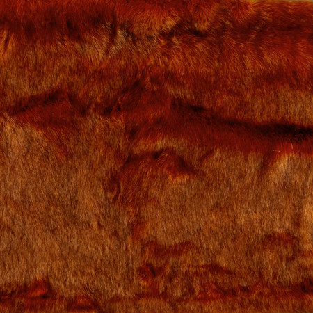 Luxury Faux Fur Canadian Husky Amber Fabric By The Yard