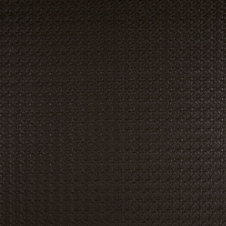 Luxury Faux Leather Rattan Black Fabric By The Yard