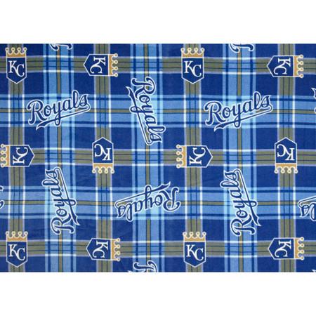 MLB Fleece Kansas City Royals Fabric By The Yard