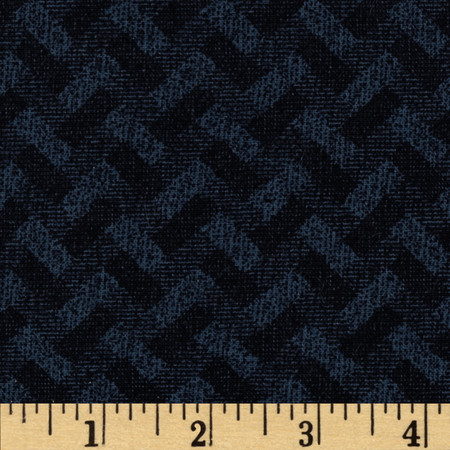 Madison Basketweave Black Fabric