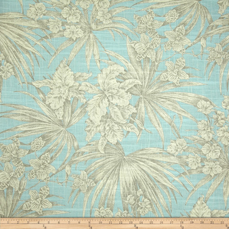 Magnolia Home Fashions Atlantis Linen Blend Spa Fabric By The Yard