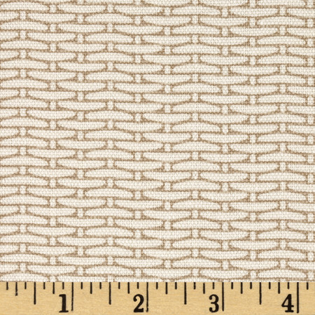 Magnolia Home Fashions Basket Weave Sand Fabric By The Yard