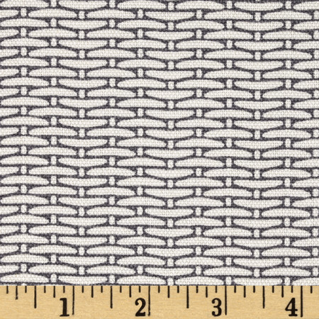 Magnolia Home Fashions Basket Weave Slate  Fabric By The Yard