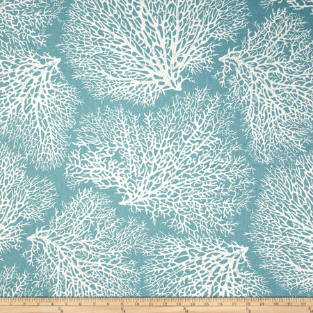 Magnolia Home Fashions Ariel Ocean Fabric By The Yard