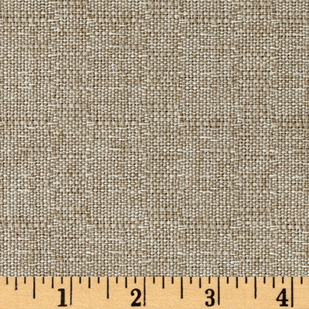 Magnolia Home Fashions Aspen Basketweave Natural Fabric By The Yard