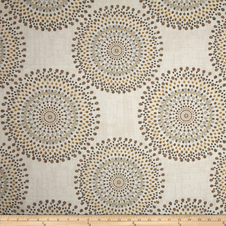 Magnolia Home Fashions Carousel Sand Fabric By The Yard