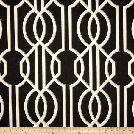 Magnolia Home Fashions Deco Onyx Fabric By The Yard